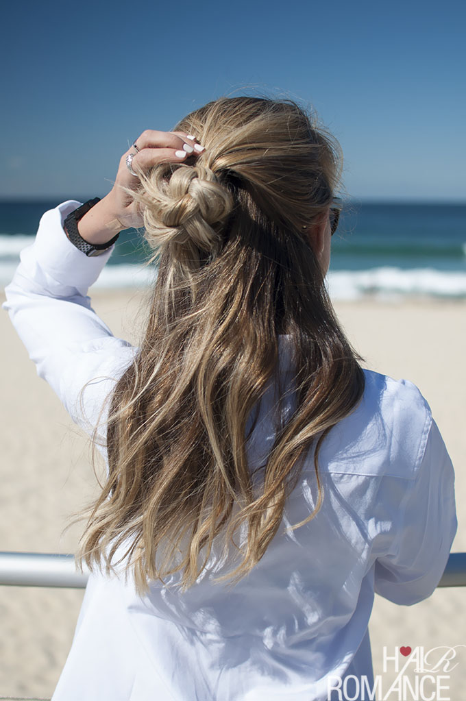 Hair Romance - Half top knot hairstyle inspirations 05
