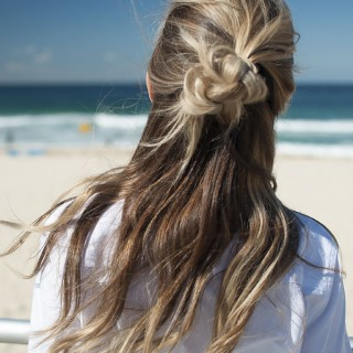 Half top knots – your new favourite hairstyle