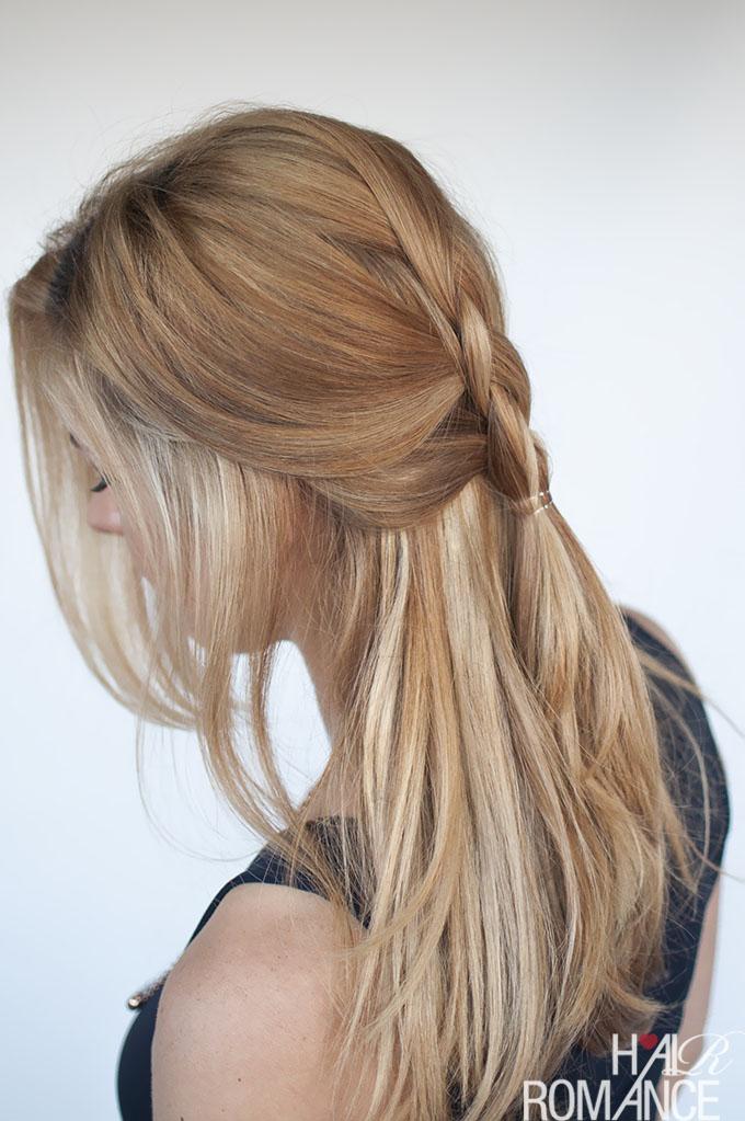 Easy Everyday Hair Dutch Braid Tutorial