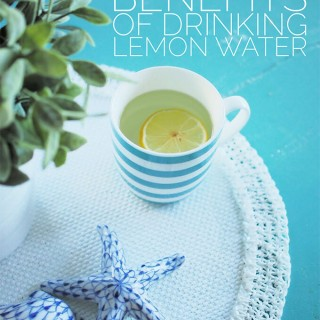 The beauty benefits of drinking lemon water