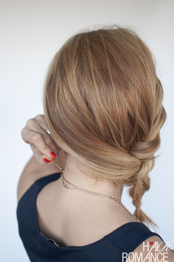 Hair Romance - Easy Twisted Ponytail Hairstyle Tutorial