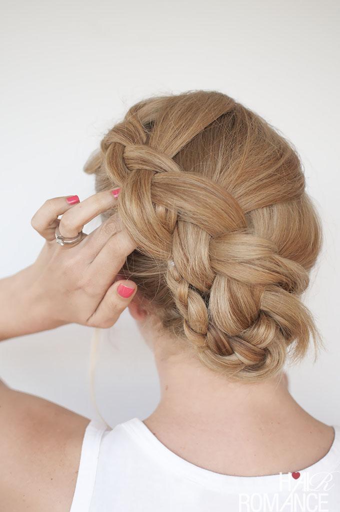 Hair Romance - Twist braid hairstyle tutorial 1