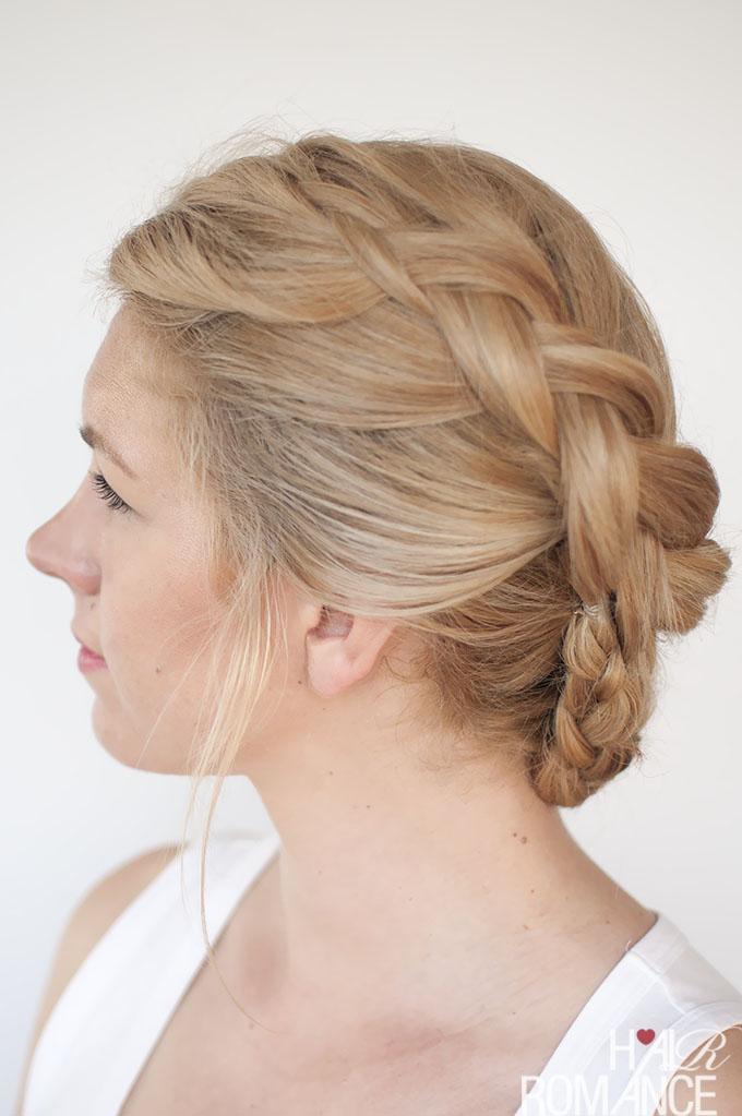 Hair Romance - Twist braid hairstyle tutorial 4