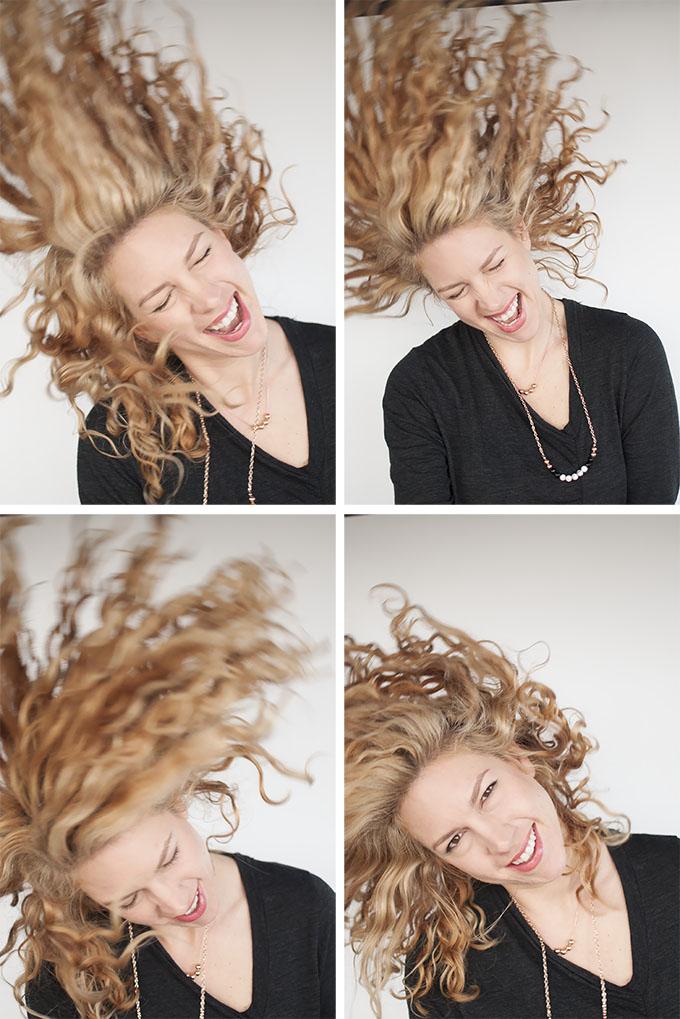 Hair Romance - crazy flipping curls