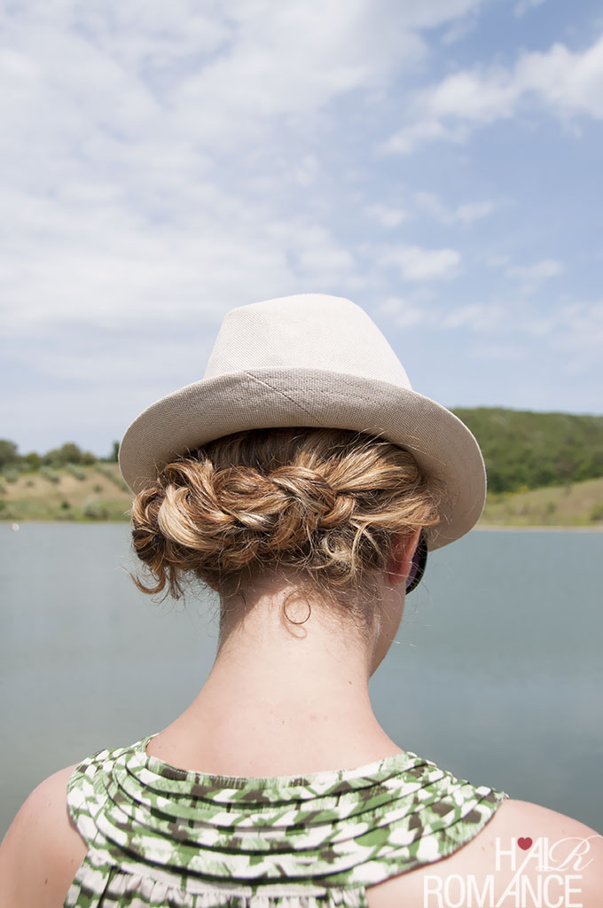 Hat hair – Hairstyles to wear under your hat 2
