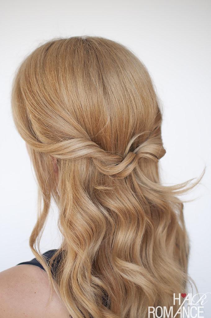 Easy Half Up Twist Hairstyle Tutorial Hair Romance