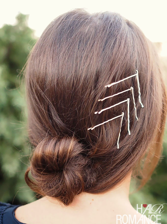 Hair Romance - fun things with bobby pins