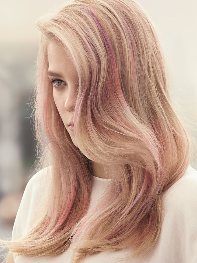 Hair Romance New Year's Hair Resolutions - Try something new - like pastel hair