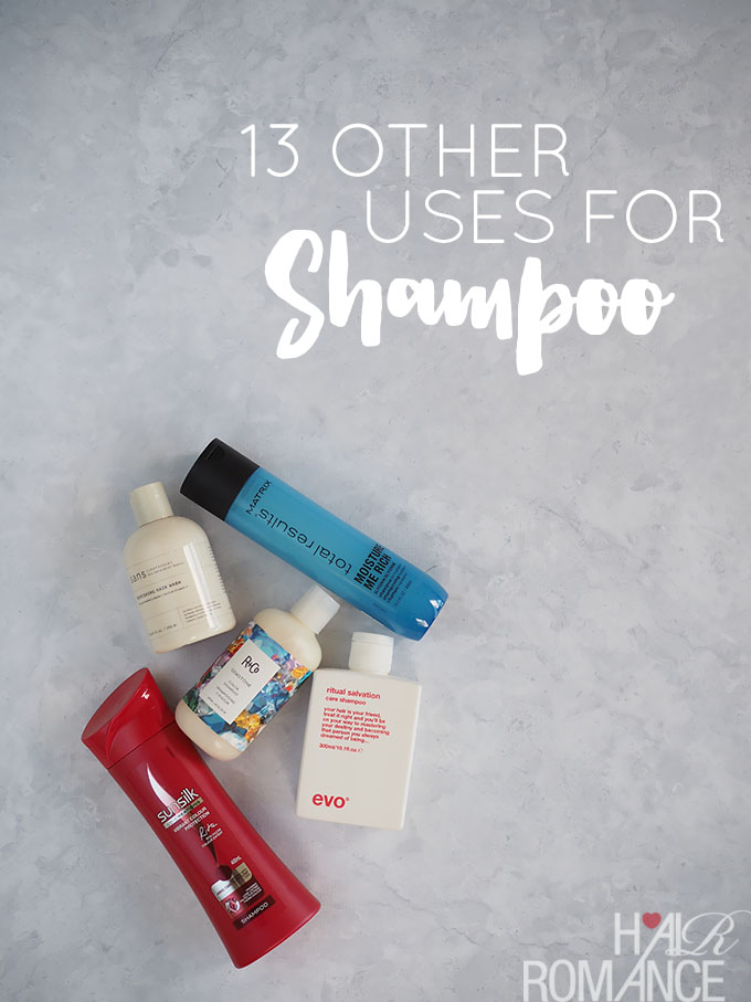 Leftover beauty products? Here''s 13 other uses for shampoo