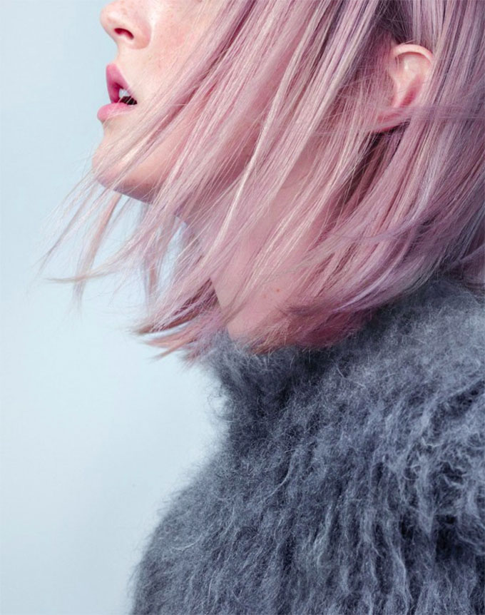 Rose Quartz hair inspiration - highlights