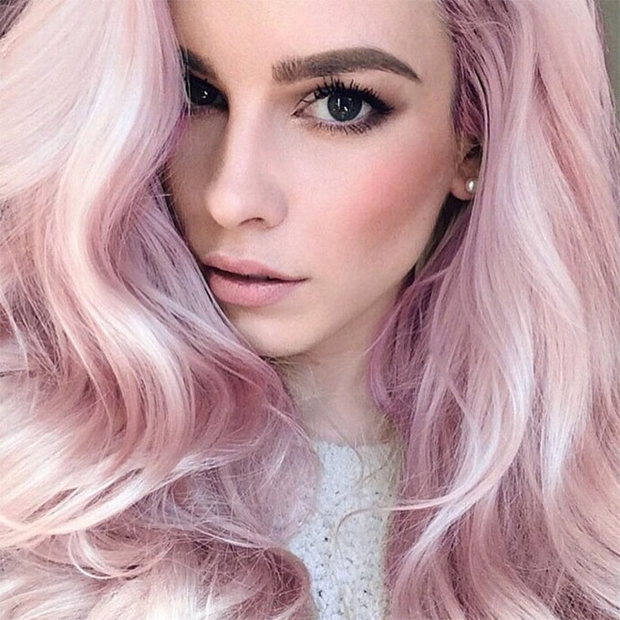 Rose Quartz hair inspiration - waves