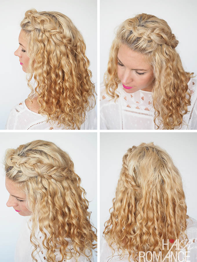30 Curly Hairstyles in 30 Days - Day 2