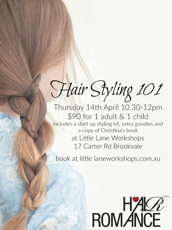 Hair Romance 2nd workshop