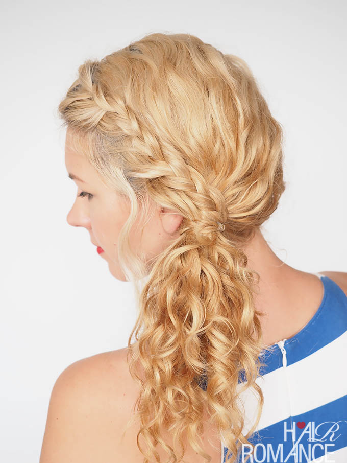 30 Curly Hairstyles in 30 Days - Day 3