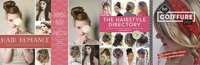 Hair Romance - Braids Buns Twists - Hairstyle Directory book covers
