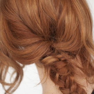 How to do a fishtail braid when you have layers