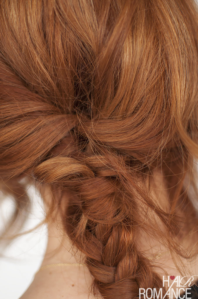 Hair Romance - Fisthtail braid tutorial 2