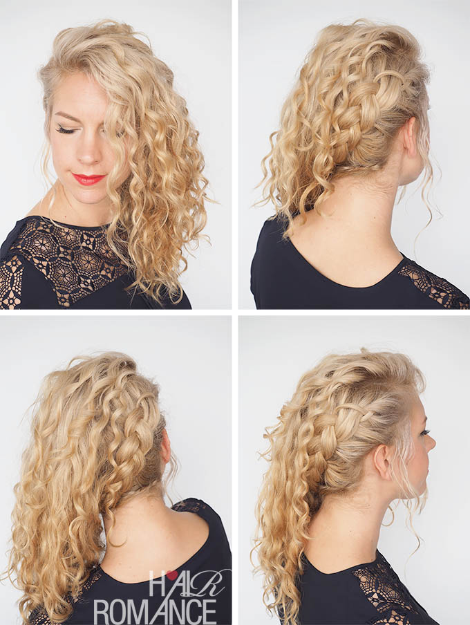 30 Curly Hairstyles In 30 Days Day 10 Hair Romance