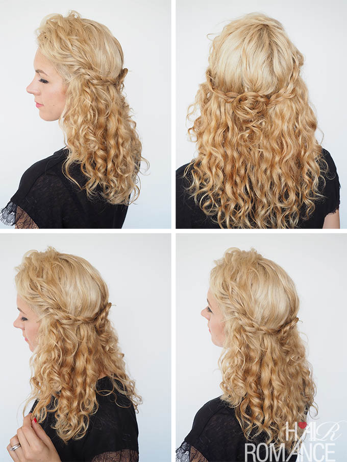 30 Curly Hairstyles In 30 Days Day 13 Hair Romance