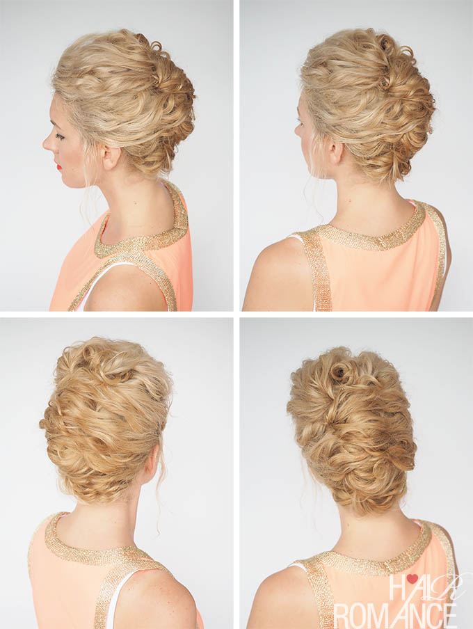 30 Curly Hairstyles In 30 Days Day 19 Hair Romance