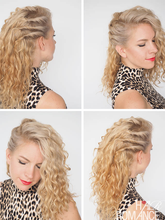 hair day styles 30 curly hairstyles in 30 days day 20 hair 1628
