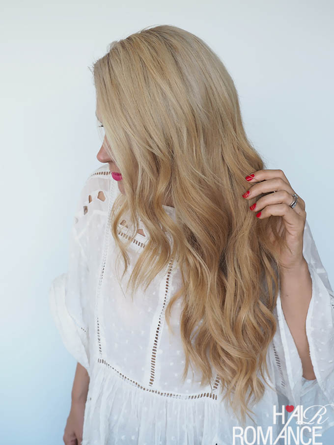 Hair Romance - How to style a big side braid with extensions
