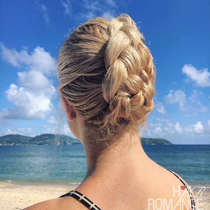 Hair Romance - Summer hair braids for wet hair
