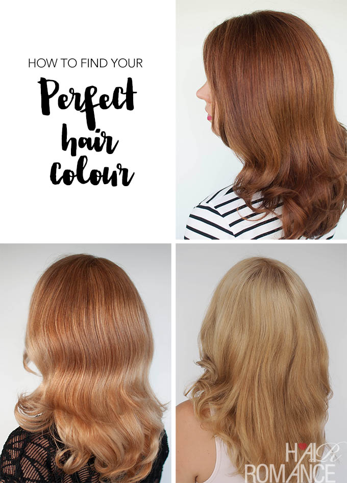 Hair Romance - How to find your perfect hair colour