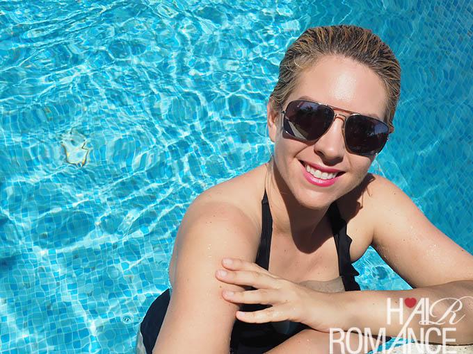 Hair Romance - 2 min Summer hair tutorial for wet hair