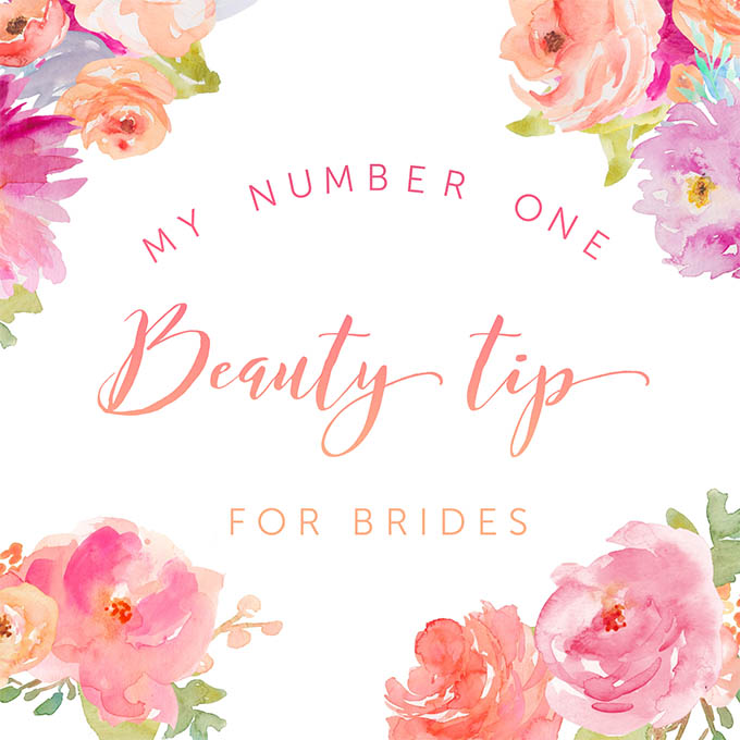 Hair Romance - The number one beauty tip for brides