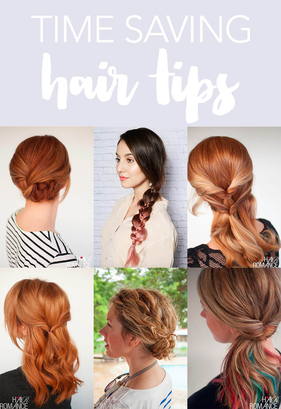 Hair Romance - Time saving hair tips