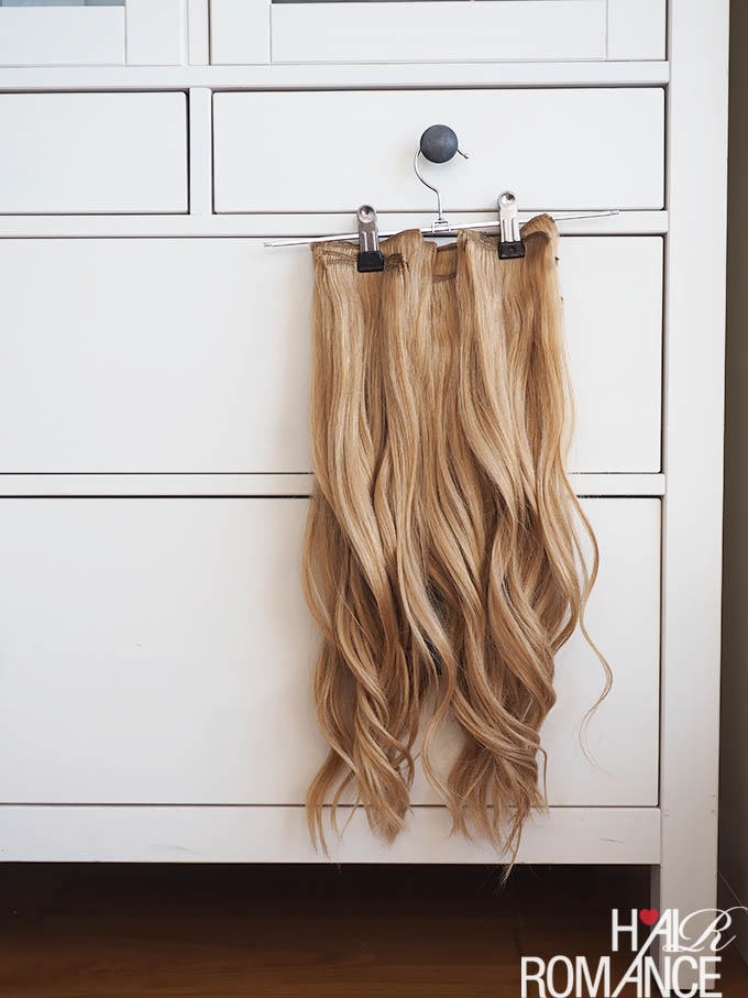 Hair Romance - hair hack - the fastest way to curl hair extensions