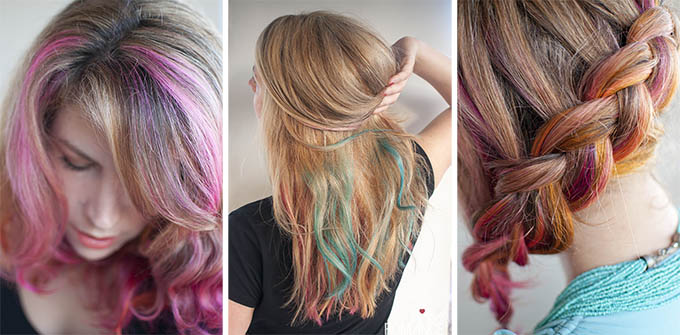 Hair Romance - my crazy hair colours