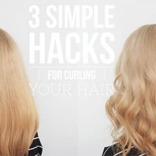 3 Easy Hair Hacks for Curling your Hair