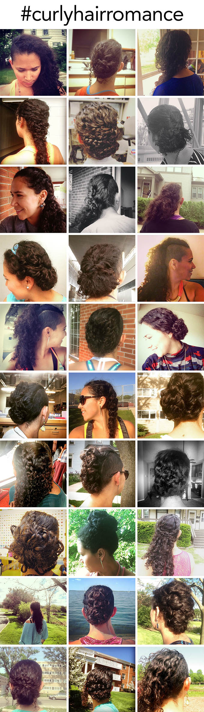 Hair Romance - Ana does 30 Curly Hairstyles in 30 Days