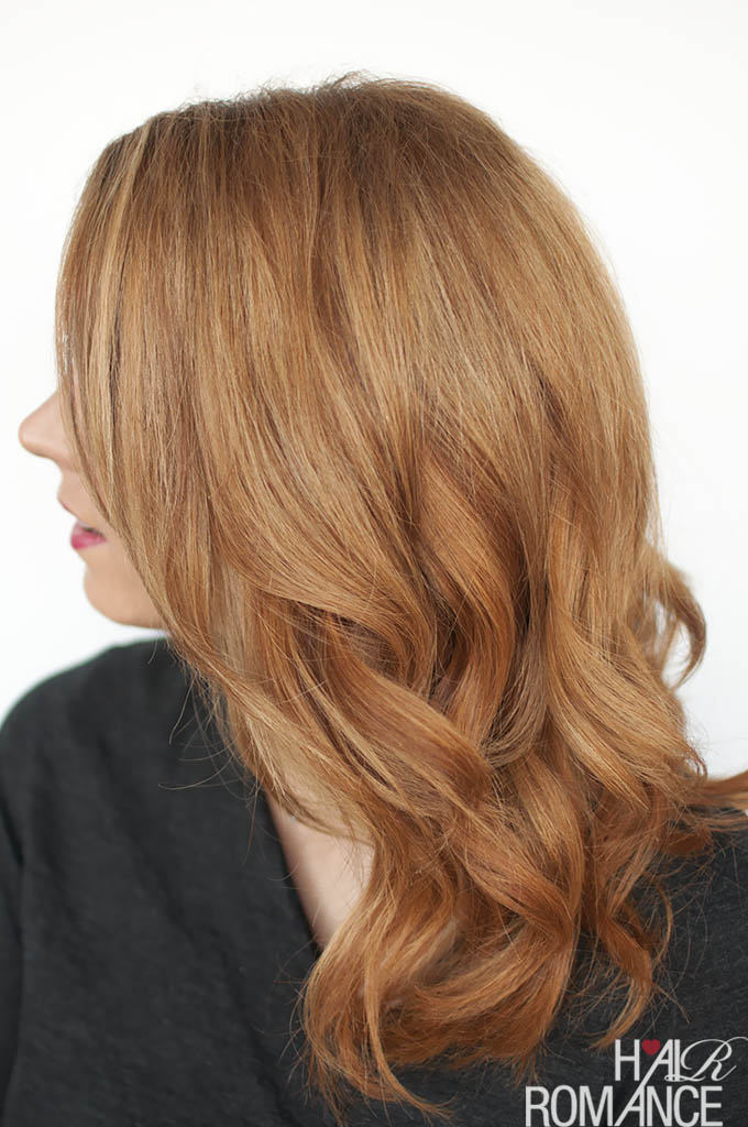 Hair Romance - hair tutorial fail - how not to curl your hair and how to fix it