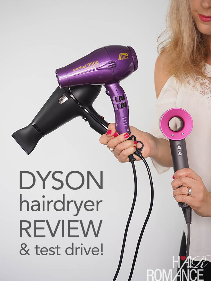 Hair Romance - Dyson hairdryer review and test drive