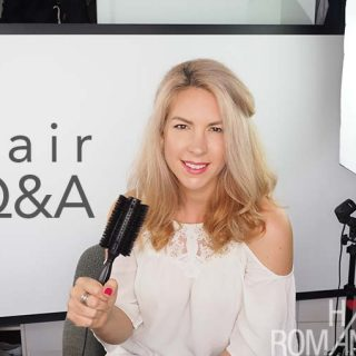 Hair Romance Q&A Video – Face shapes, fave products, hair bungees and how to make your hair grow faster