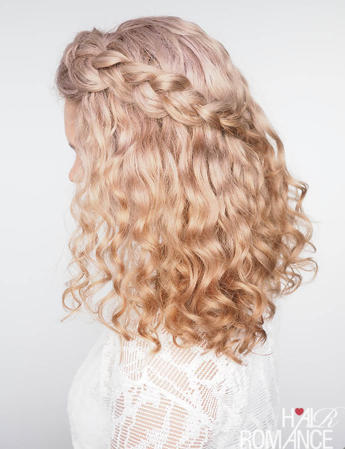 Tips for braiding curly hair (plus a quick tutorial!) , Hair