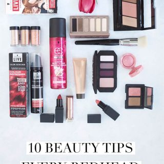 10 Beauty Tips Every Redhead Should Know