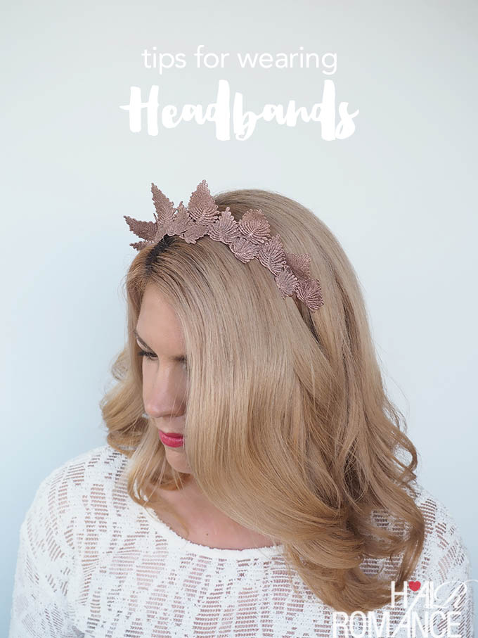 Hair Romance - How to wear a headband and a fun braid tutorial