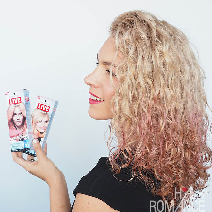 The most fun way to colour your hair ever