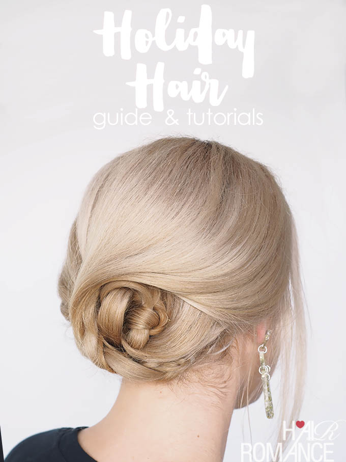 Easy Holiday Hair tutorials and your guide to great hair