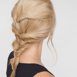 The twist braid hairstyle tutorial that isn't really a braid at all