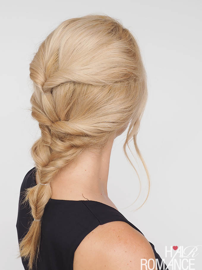 Hair Romance - The easy twist braid hairstyle tutorial that isn't really a braid at all