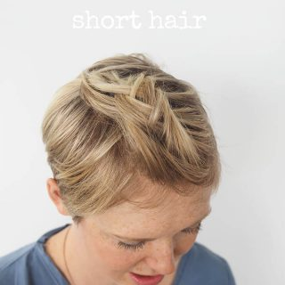 3 quick and easy ways to style short hair