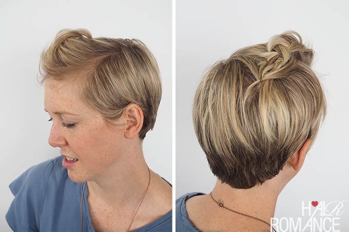 3 Quick And Easy Ways To Style Short Hair Hair Romance