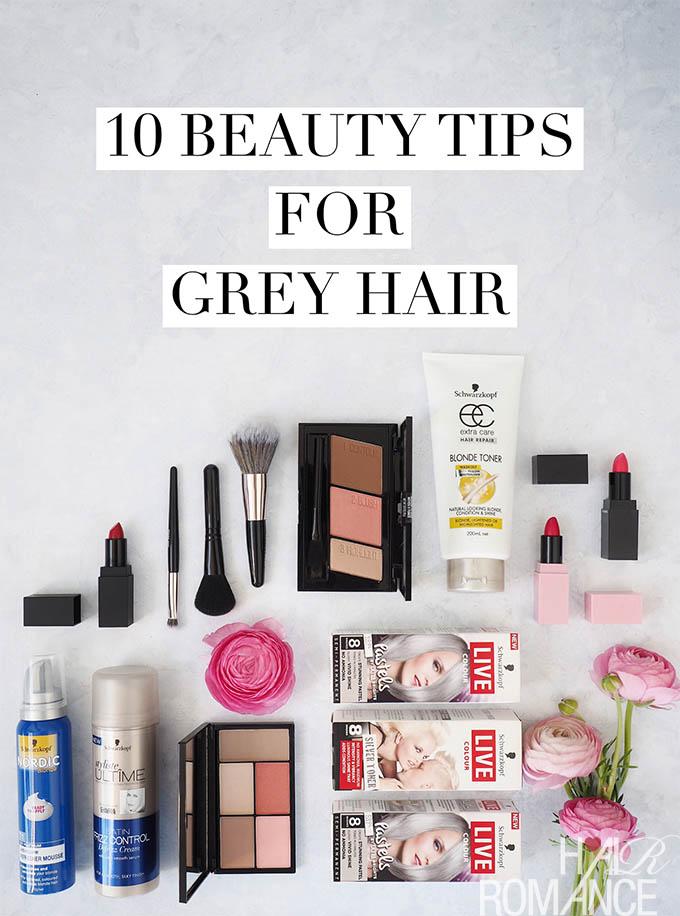 Hair Romance - Best beauty tips for grey hair