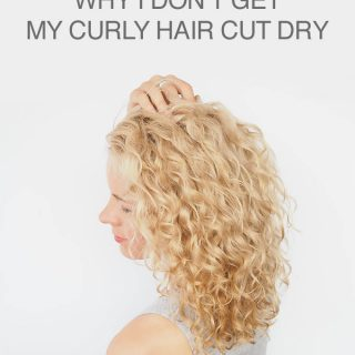Curly haircuts and why I don't get my curly hair cut dry