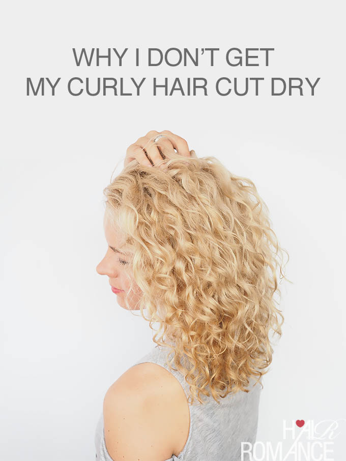 Hair Romance - Curly Haircuts - Why I don't get my curly hair cut dry